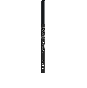 The best combination of eyeliner and khol in a black extra chic and thin pen for an ultra soft application here is the EyeArtist 2 in 1 Khol Kajal & Contour Eyeliner